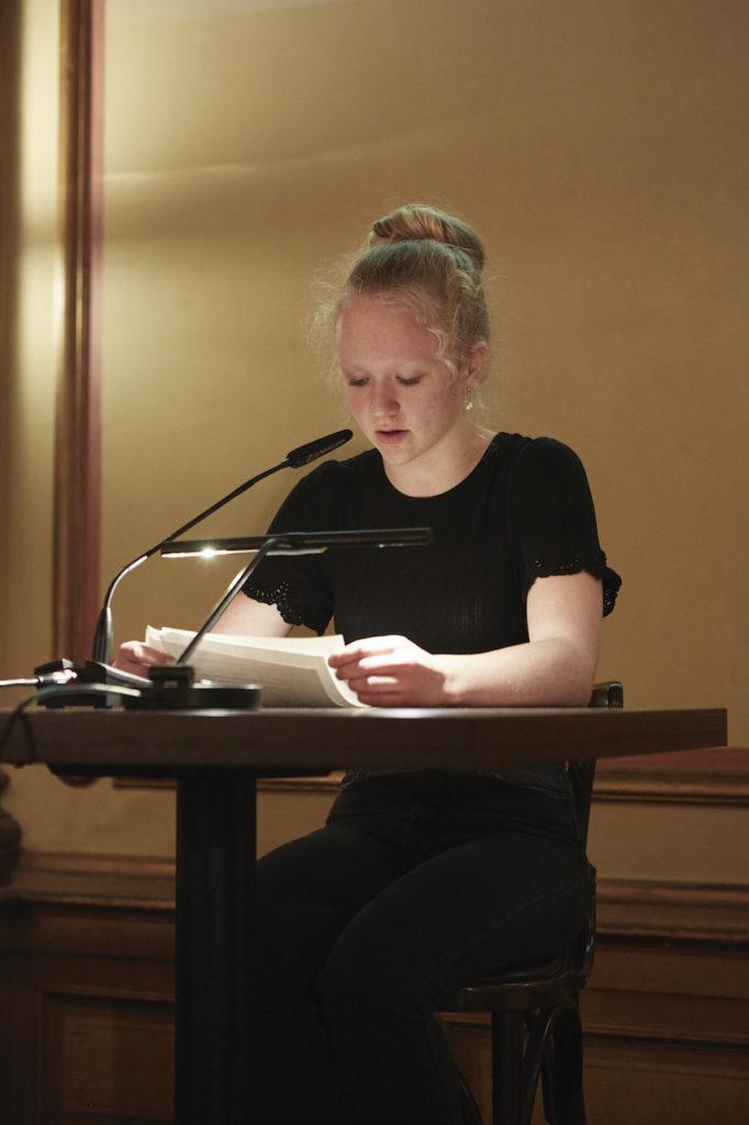 Carlotta Braasch © Literaturhaus, Fotografin Sophie Daum